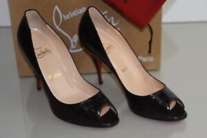 251faceca05 Details about NEW Christian Louboutin YOYO 100 Alligator Dark Brown  Crocodile Pumps Shoes 40.5