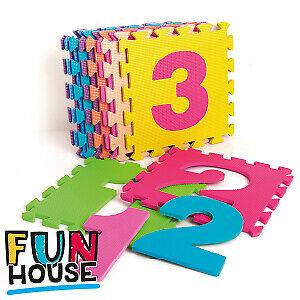 Fun House 10 Schiuma Eva Tappetini Da Gioco Grande Bambini Bambino Asilo Playsets-