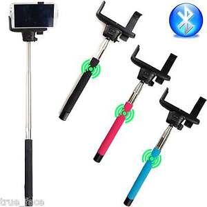 selfie stick monopod extendable bluetooth shutter for iphone samsung htc lg s. Black Bedroom Furniture Sets. Home Design Ideas