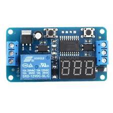 Digital LED Time Adjustable Delay Timer Control Switch Module Relay DC 12V B4Q5