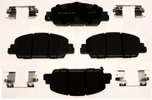 Disc Brake Pad Set-Ceramic Disc Brake Pad Front ACDelco Advantage 14D1654CH