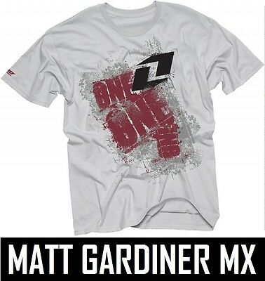 ONE INDUSTRIES KIDS YOUTH T-SHIRT NOT SO MICRO TEE GREY boys motocross mx