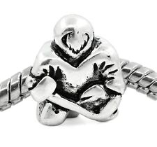 Ice Hockey Player NHL Team Sports Bead for Silver European Style Charm Bracelets