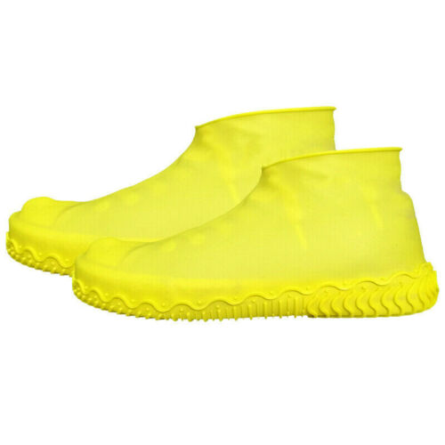Waterproof Rainproof Shoes Covers Silicone Overshoes Reusable Rain Boots Adult