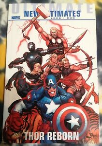 NEW-ULTIMATES-Thor-Reborn-TPB-Marvel-Comics-New-Hawkeye-Black-Panther