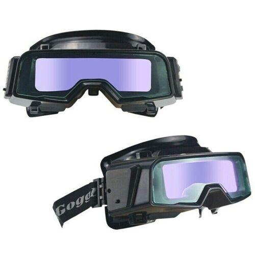 1x Solar Auto Darkening Welding Goggles Helmet Tig Mig Grinding Shield Glasses