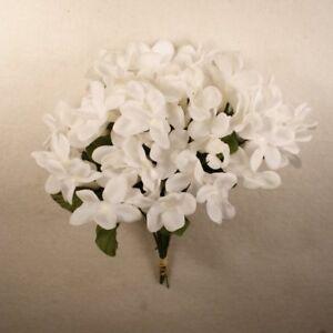 Stephanotis silk wedding flower white 12 piece lot 00110704001 ebay image is loading stephanotis silk wedding flower white 12 piece lot mightylinksfo