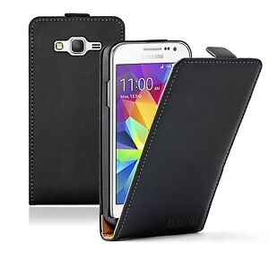 Ultra Slim BLACK Leather Mobile Phone Galaxy Core Prime SMG360F  Case Cover - West Sussex, United Kingdom - Ultra Slim BLACK Leather Mobile Phone Galaxy Core Prime SMG360F  Case Cover - West Sussex, United Kingdom