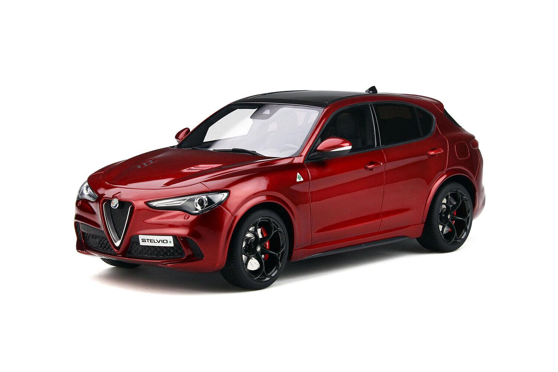 OTTO 118 Alfa Romeo Stelvio Quadrifoglio Rosso Competizione OT285