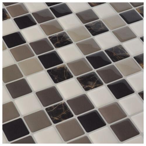 """12/""""x12/"""" 6Sheets DIY Vinyl Backsplash Tiles for Kitchen Peel and Stick"""