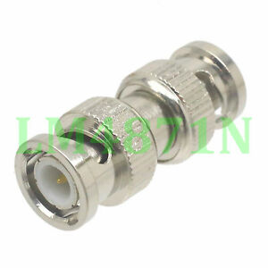 1pce-Adapter-BNC-plug-male-to-BNC-male-RF-connector-straight-M-M