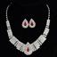 Fashion-Elegant-Women-Bib-Crystal-Pendant-Statement-Chain-Chunky-Choker-Necklace miniature 8