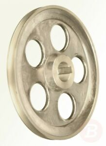 Ribitech-00266-Pulley-Aluminium-Diameter-160-mm