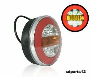 1x-Feu-Neon-LED-12-24V-Hamburger-Arriere-Lampe-de-Brouillard-Camion-Remorque