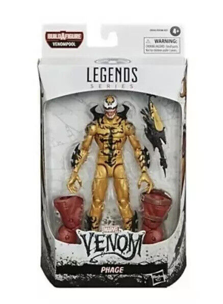 """Venom Phage Marvel Legends 6"""" Action Figure with Venompool New In Stock Sealed"""