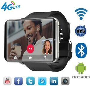 DM100 LEM T 4G Android Smart Watch Big Screen Facial Unlock -3GB RAM 32GB USA