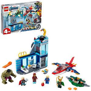 LEGO 76152 Marvel Avengers Wrath of Loki Playset with 5 Figures and 2 Vehicles