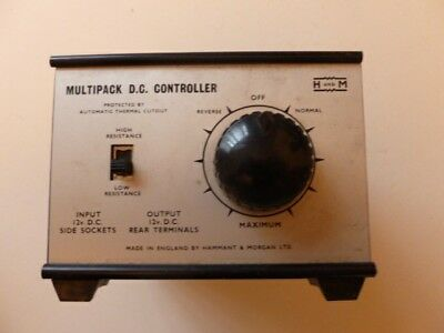 Multipack D.c. Controller For Model Railways -to Be Used With A Power Unit
