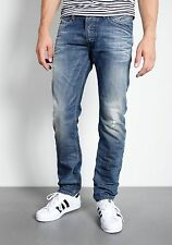 Diesel Belther slim tapered jeans 0843S wash W38 L32 $248 NWT