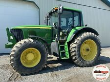 2005 John Deere 7520 Tractor Cab 4x4 540 Pto 3 Remotes Heat Ac 1937 Hours
