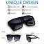 OVERSIZED-Sunglasses-Lauren-Women-Lady-Flat-Top-Big-Huge-Sunnies-Gafas-SHADZ thumbnail 2