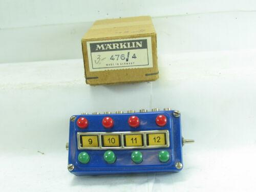 Märklin H0 476//4 Schaltpult mit Orginalverpackung B2721