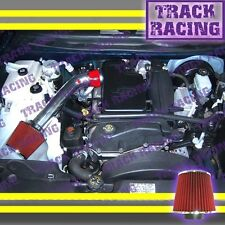2002 2003 CHEVY TRAILBLAZER GMC ENVOY BRAVADA 4.2L I6 AIR INTAKE KIT Red 1