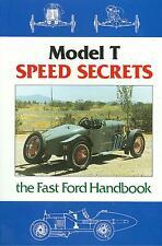 1909 20 21 22 23 24 25 26 27  FORD MODEL T  SPEED SECRETS