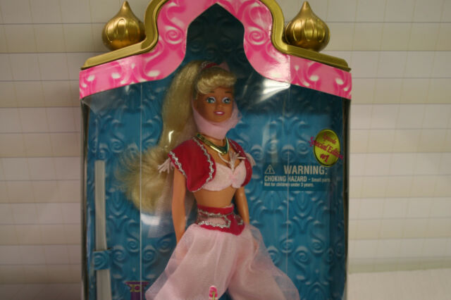 I Dream Of Jeannie Barbie New in Box Episode One The Lady In The Bottle