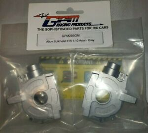 Details about Gpm Racing alloy bulkhead F/R 1:10 axial Gray part RC car  replacement part new