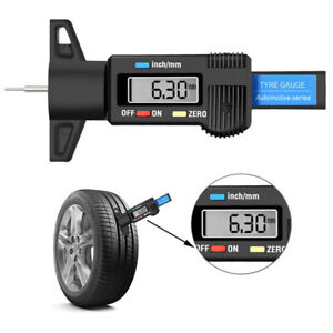 Truck Tools Gauge Tire Caliper Tread Depth Accurate Display New Digital LCD N3B5