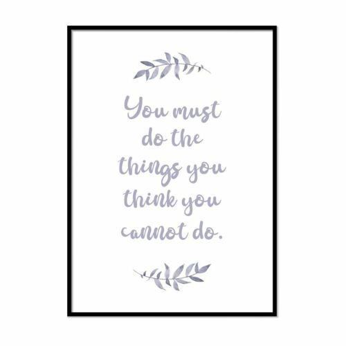 Inspirational Quotes Prints Framed Wall Art Motivational Posters Good Vibes Art
