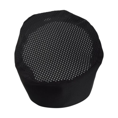 One Size Fit Most Adjustable Black Chef Hat 1