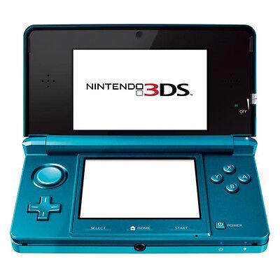 Nintendo 3DS - Aqua Blue Handheld System