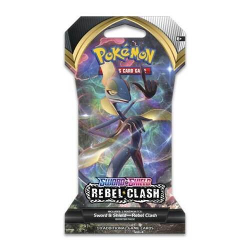 Rebel Clash Booster Blister Pack Sword /& Shield Pokemon TCG