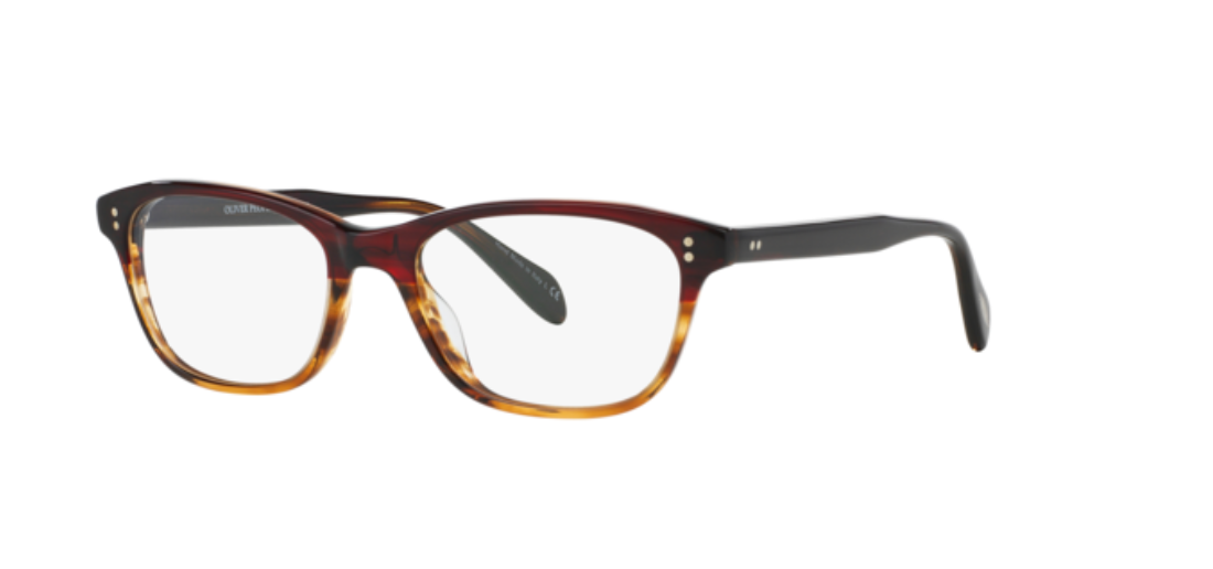 Oliver Peoples 0OV 5224 ASHTON 1224 Red Tortoise Gradient Eyeglasses