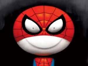 Doug-Hyde-CATCHES-THIEVES-JUST-LIKE-FLIES-MOUNTED-Spiderman-Marvel-Stan-Lee