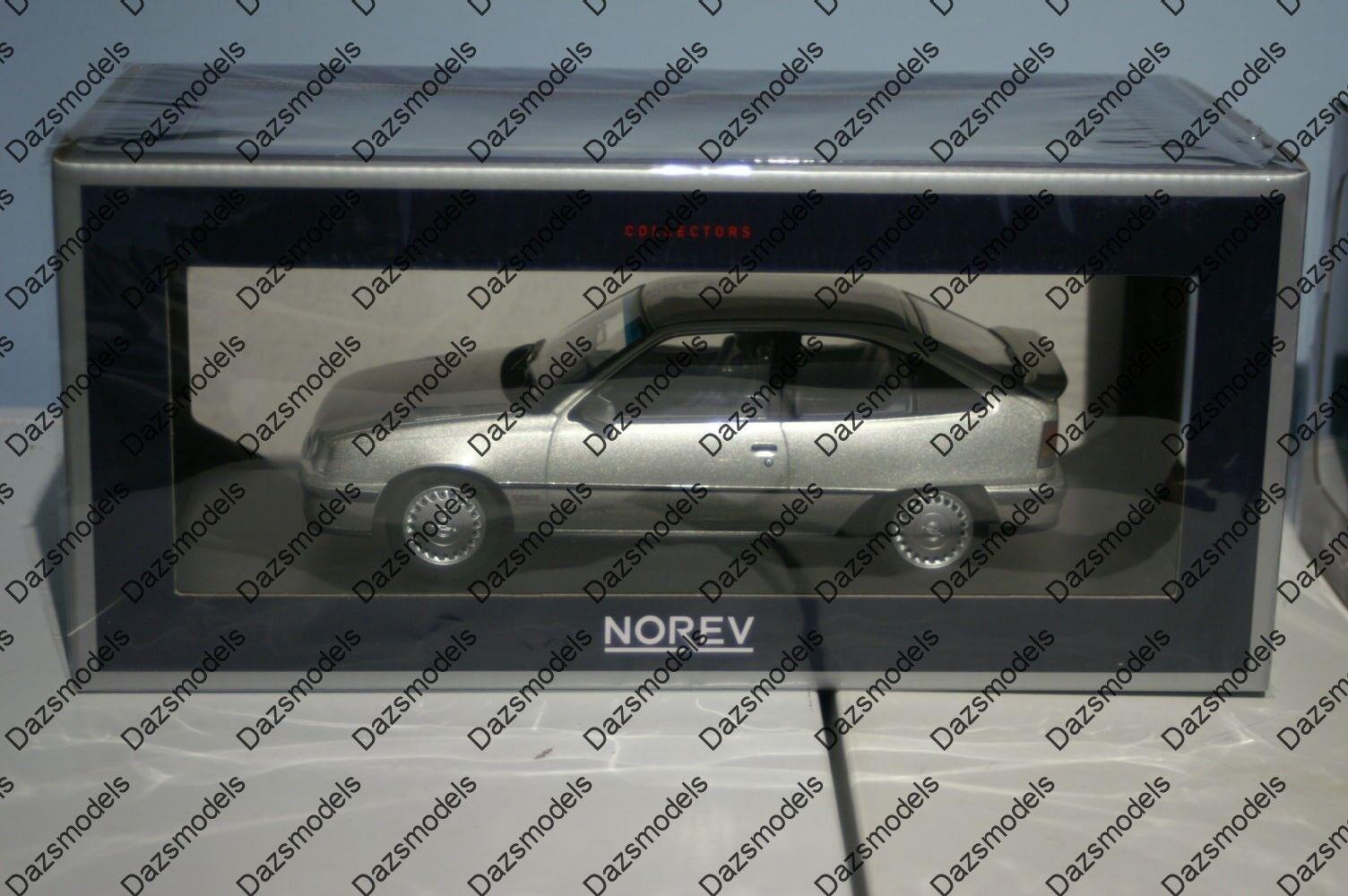 Norev Opel Kadett E GSI, Vauxhall Astra Mk2 argento 1 18 escala 183613