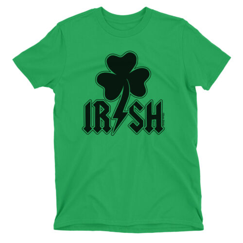 IRISH Kids Unisex T-Shirt St Patricks Day Ireland Paddys Rock Band Clover