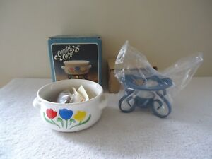 Vintage-1987-034-NOS-034-Country-Corner-Potpourri-Cooker-034-BEAUTIFUL-COLLECTIBLE-034