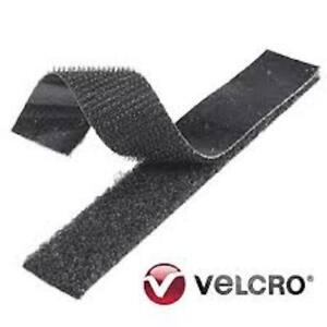Self-Adhesive-Hook-and-Loop-Sticky-Velcro-Fastener-Tape-TEXACRO-Black-20mm-x-2m