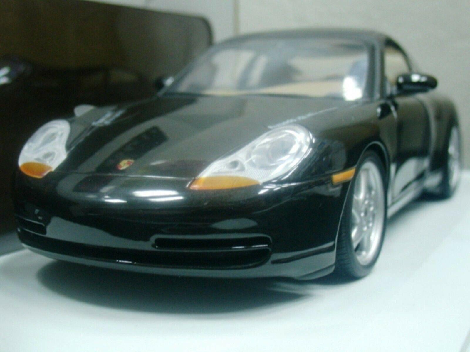 Wow extrêmement rare Porsche 996 911 C2 Coupé 300HP 1998 Noir 1 18 UT-993 Autoart