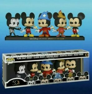 Funko-Pop-Disney-Archives-Preserving-the-Magic-Mickey-5-Pk-Amazon-Exclusive