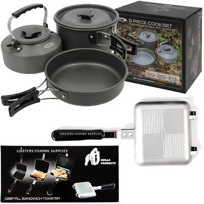NGT Fast Boil Kettle Folding Handle 1.1L Litre Ideal For Camping Carp Fishing