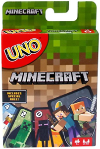 UNO MINECRAFT US IMPORT ACC NEW