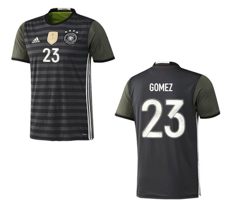 Trikot Adidas DFB 2016-2018 Away - Gomez 23  Fußball EM Deutschland