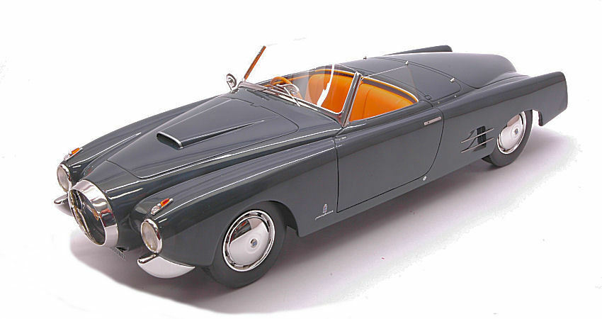 Lancia Aurelia B52 Pf200 Spyder 1952 Dark gris 1 18 Model MINIMINIERA