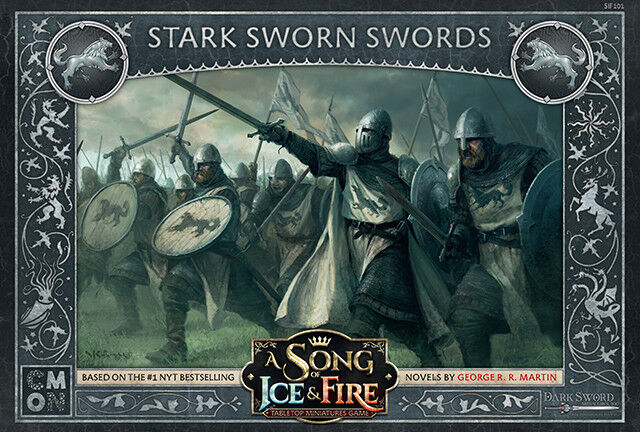 A Song of Ice & Fire  Tabletop Miniatures Game - Stark Sworn Swords Expansion