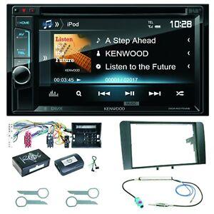 Kenwood-DDX-4017DAB-Bluetooth-DAB-CD-USB-Android-Einbauset-fuer-Audi-A3-8P-8PA
