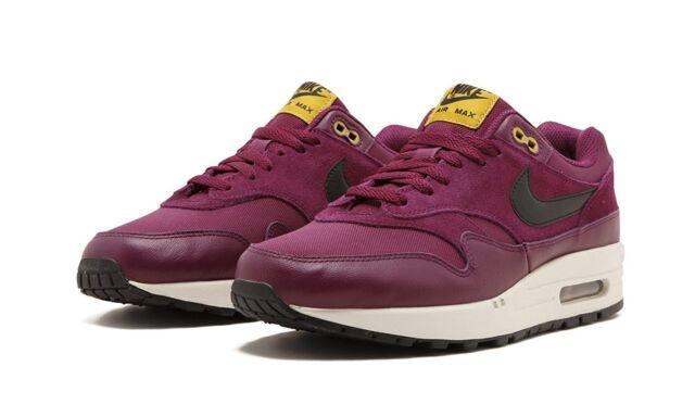 Nike Air Max 1 Premium BordeauxBlack Desert Moss (875844 601)